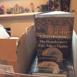 The Arrival of 'Chatsworth: The Houskeeper's Tips, Tales and Tipples'